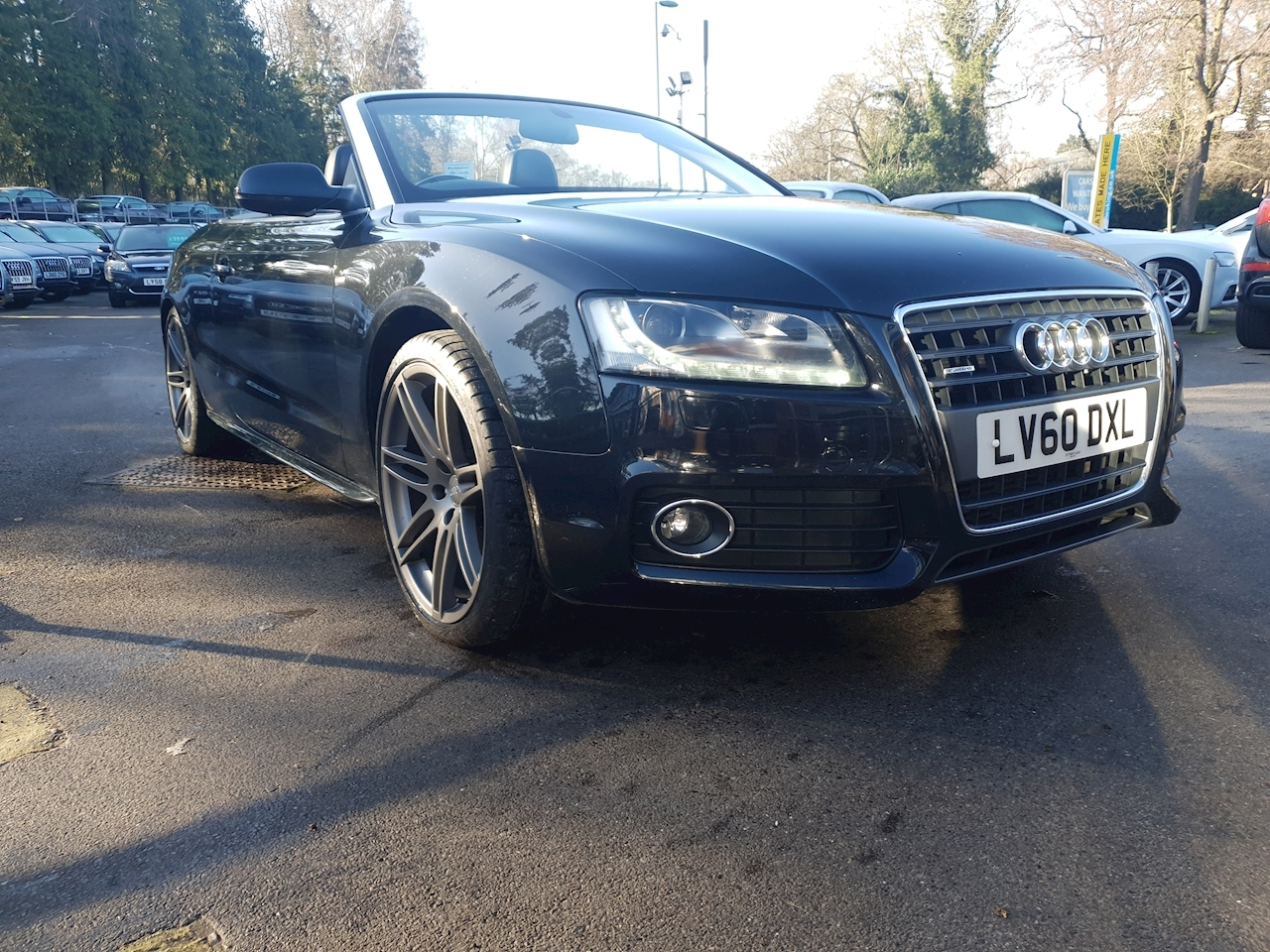 Audi 2.0 TFSI   Quattro S lineOVER £6000 OF FACTORY OPTIONS)Cabriolet 2dr Petrol Multitronic (174 g/km, 208 bhp)