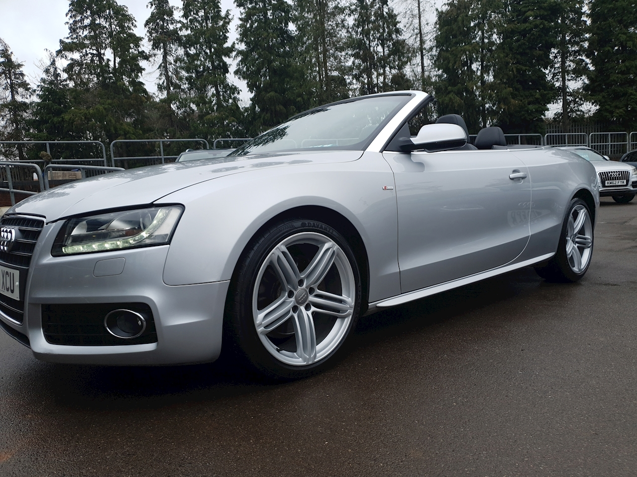 Audi 2.0 TFSI S line  Quattro (£4395 OF FACTORY OPTIONS Cabriolet 2dr Petrol Multitronic (174 g/km, 208 bhp)