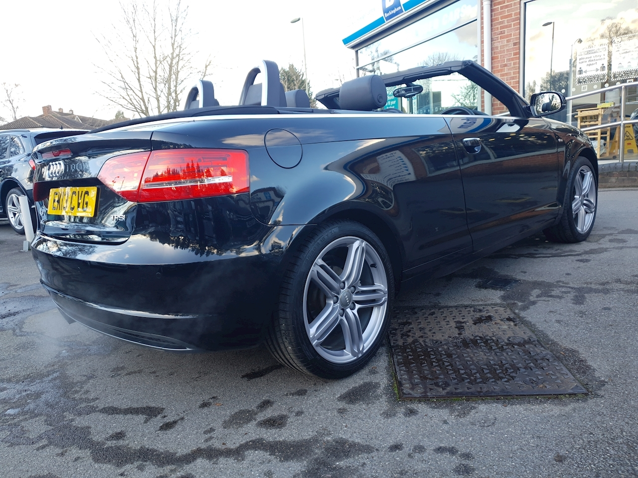 Audi 1.8 TFSI S line Final Edition Cabriolet 2dr Petrol S Tronic (154 g/km, 158 bhp)