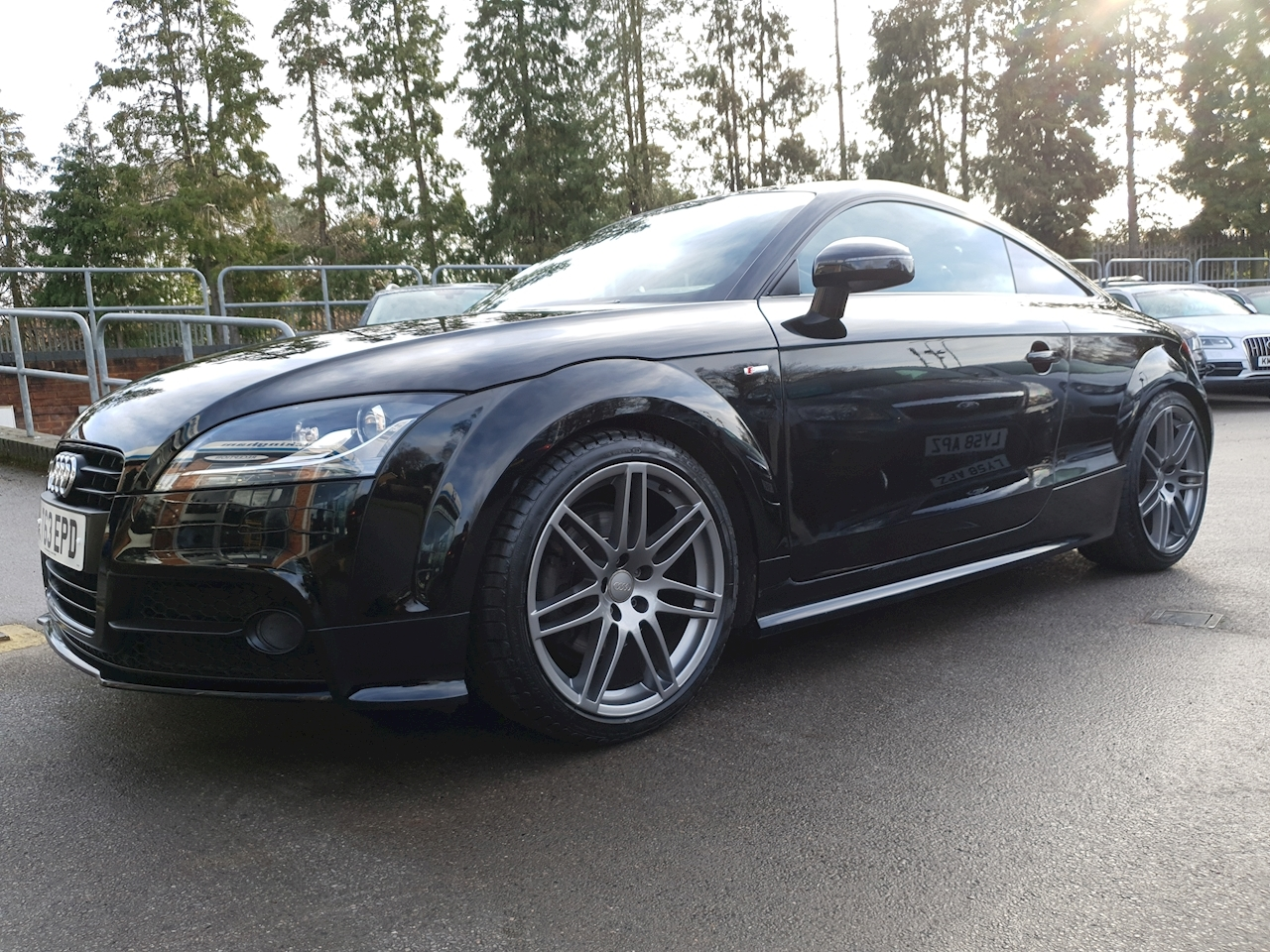 Audi 2.0 TFSI Quattro  Black Edition  WITH  NAV  Coupe 2dr Petrol S Tronic (164 g/km, 208 bhp)
