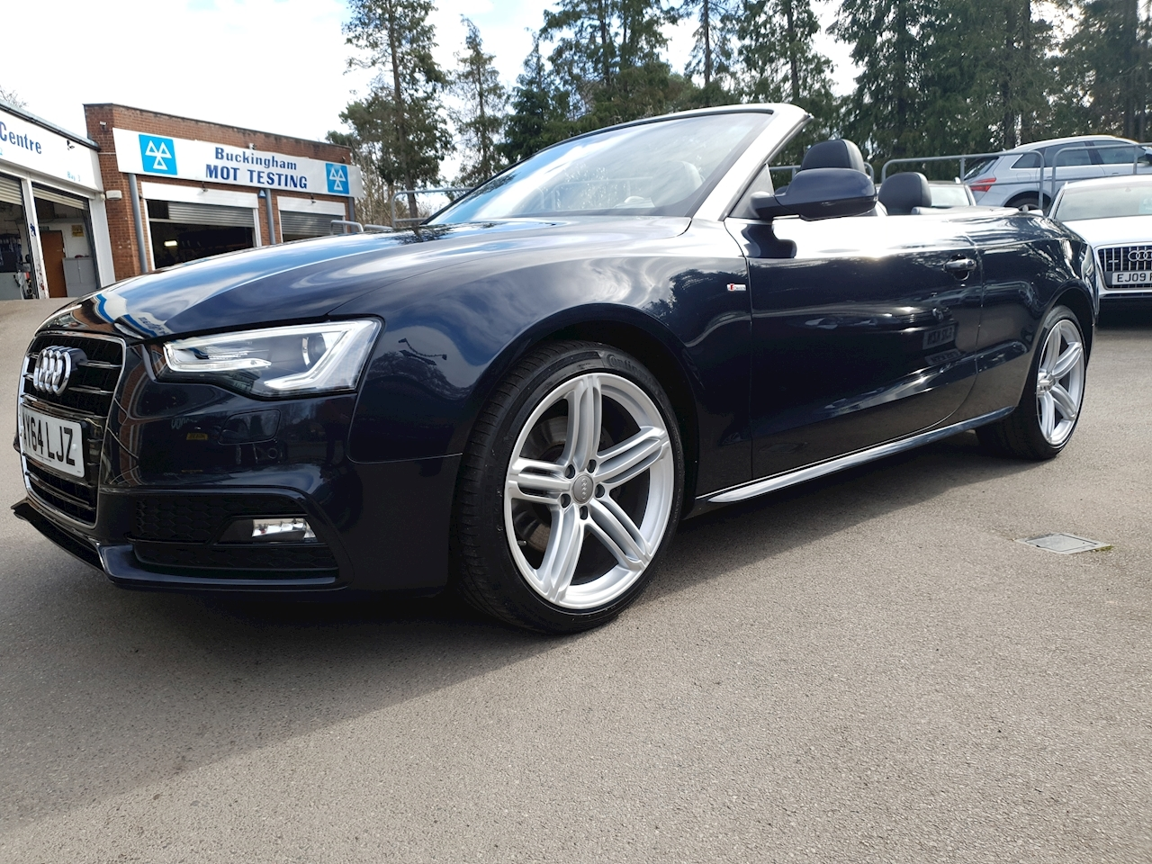 Audi 2.0 TFSI S line Special Edition Cabriolet 2dr Petrol Manual (148 g/km, 222 bhp)