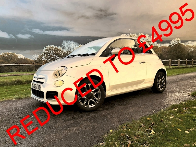 500 S 1.2 3dr Hatchback Manual Petrol