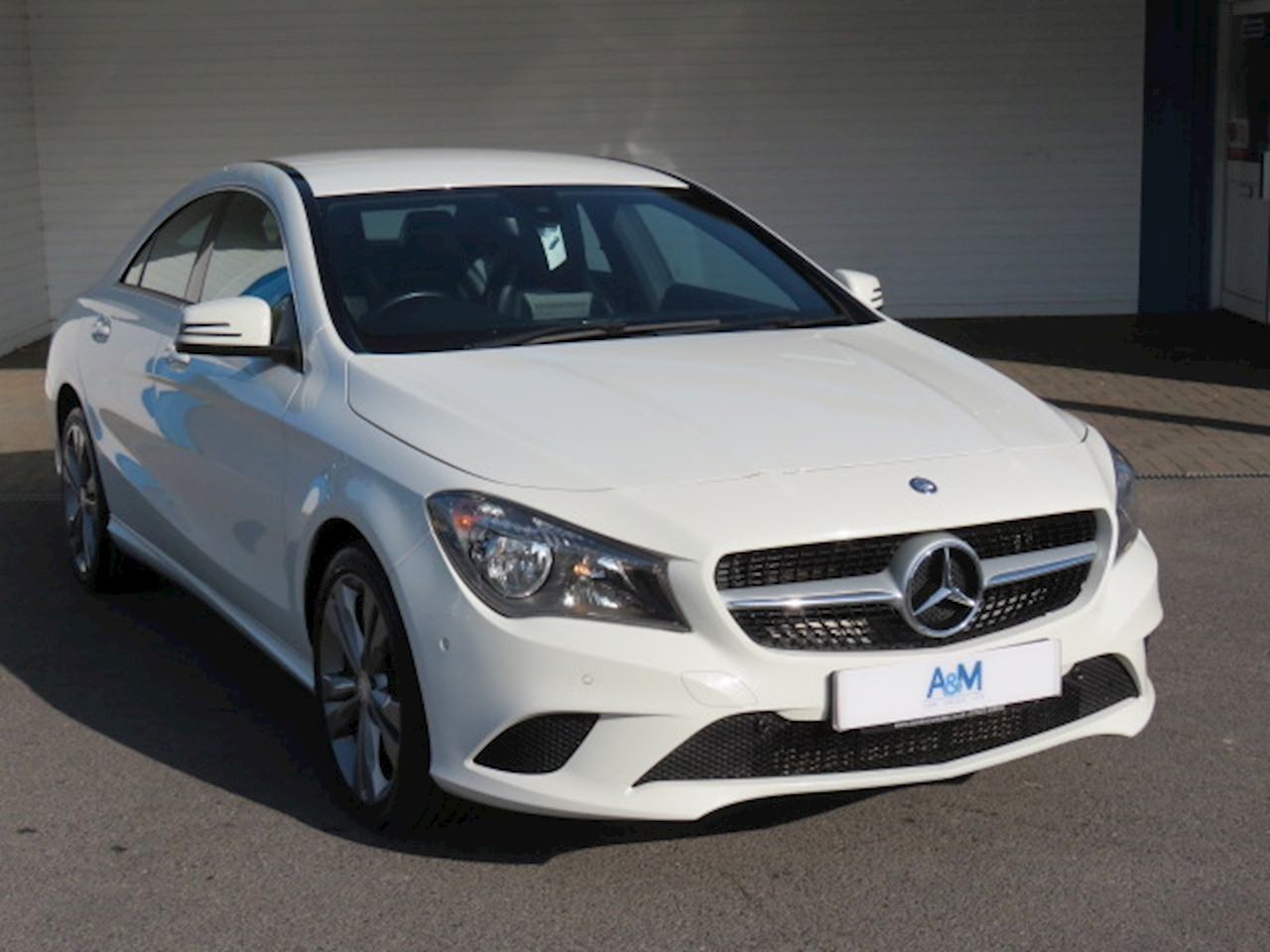 Mercedes-Benz CLA Class Sport 2.1 4dr Coupe Manual Diesel
