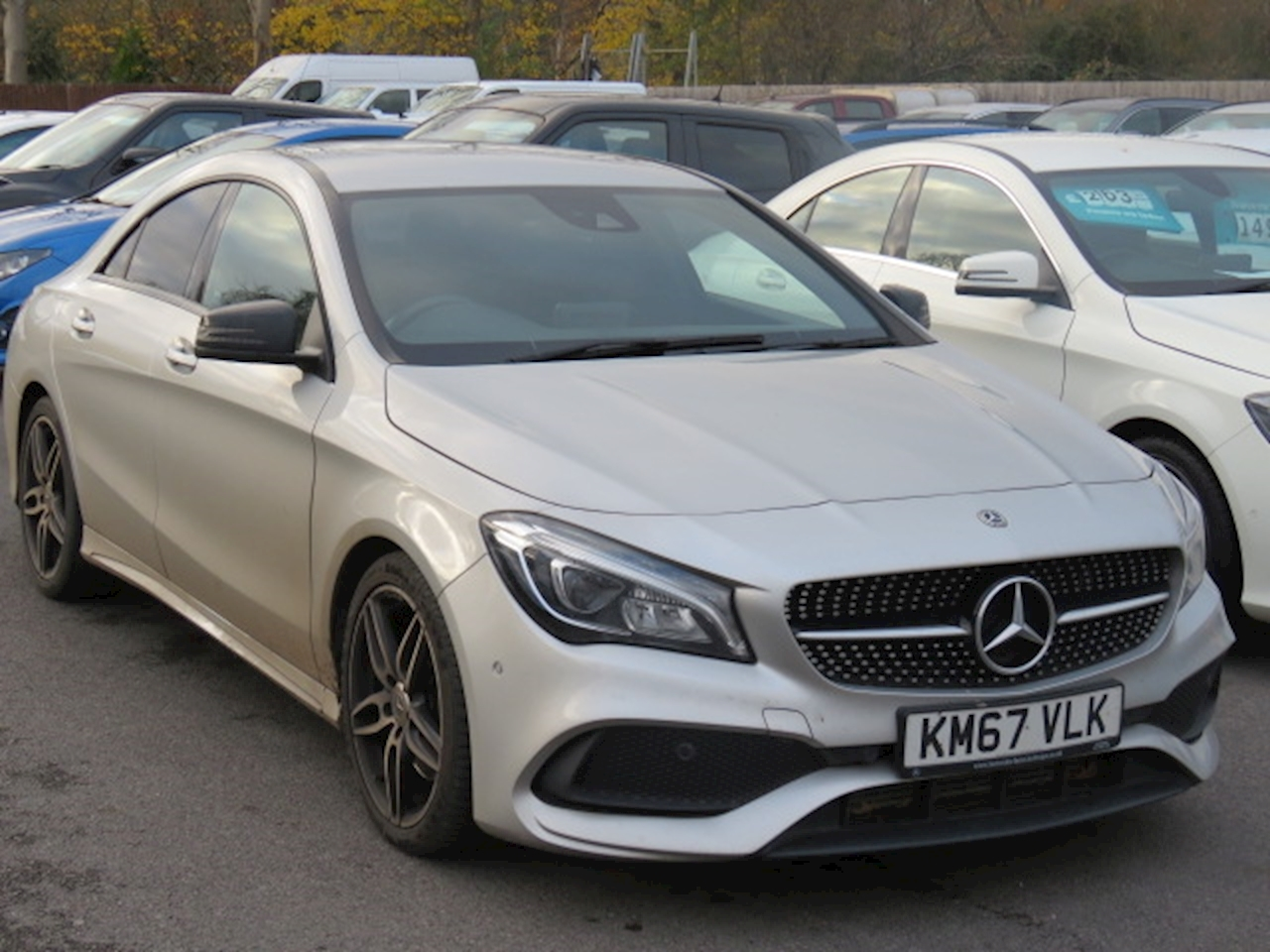Mercedes-Benz CLA Class AMG Line 2.1 4dr Coupe 7G-DCT Diesel