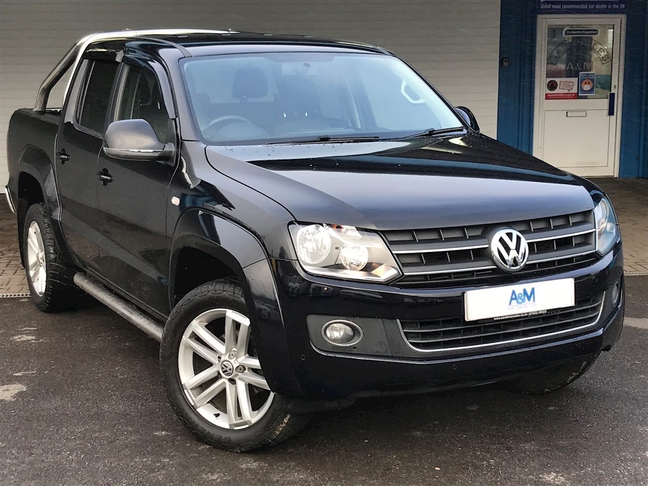Volkswagen 2.0 BiTDI BlueMotion Tech Highline Per Pickup 4dr Diesel Automatic 4MOTION (178 bhp)