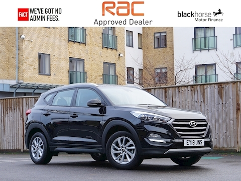 Hyundai Tucson Tucson Se Blue Drive 2Wd Estate 1.6 Manual Petrol