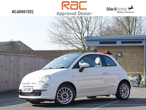 Fiat 500 C Lounge Convertible 0.9 Manual Petrol