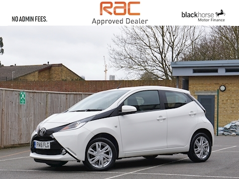 Toyota Aygo Vvt-I X-Pression Hatchback 1.0 Manual Petrol