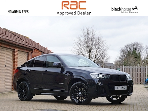 Bmw X4 Xdrive20d M Sport Coupe 2.0 Automatic Diesel