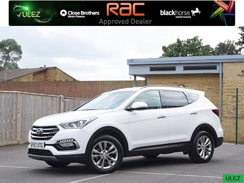 Hyundai Santa Fe Crdi Premium Blue Drive Estate 2.2 Manual Diesel