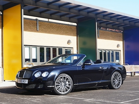 Bentley Continental Gtc Speed Convertible 6.0 Automatic Petrol/Alcohol