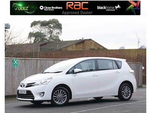 Toyota Verso Valvematic Icon Mpv 1.6 Manual Petrol