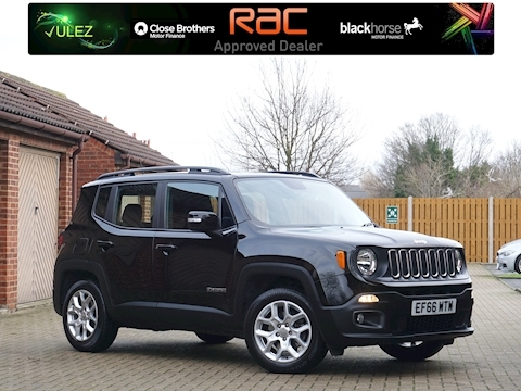 Jeep Renegade Longitude Estate 1.6 Manual Petrol