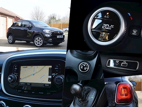 Fiat 500X Multiair Pop Star Ddct Hatchback 1.4 Semi Auto Petrol