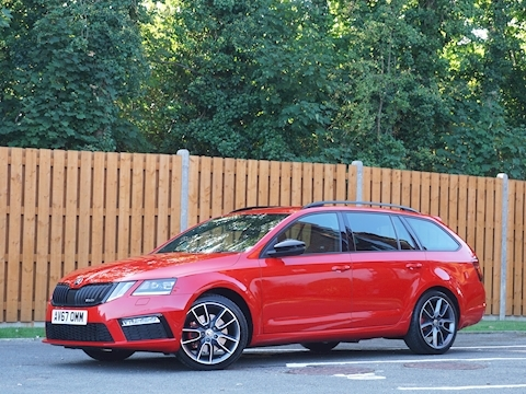 SKODA Octavia vRS Estate 2.0 Manual Diesel