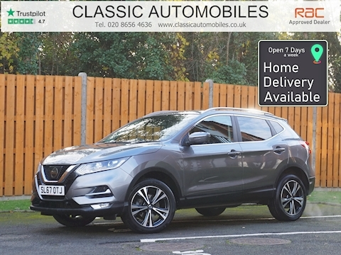 Nissan Qashqai N-Connecta SUV 1.2 Manual Petrol