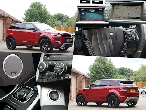 Land Rover Range Rover Evoque Dynamic Lux 2.2 5dr SUV Automatic Diesel