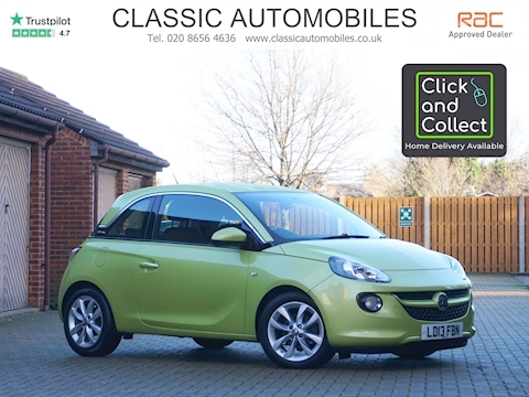 Vauxhall Adam Jam Hatchback 1.2 Manual Petrol
