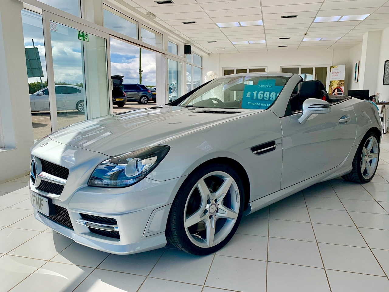Mercedes-Benz Slk Slk250 Cdi Blueefficiency Amg Sport Convertible 2.1 Automatic Diesel
