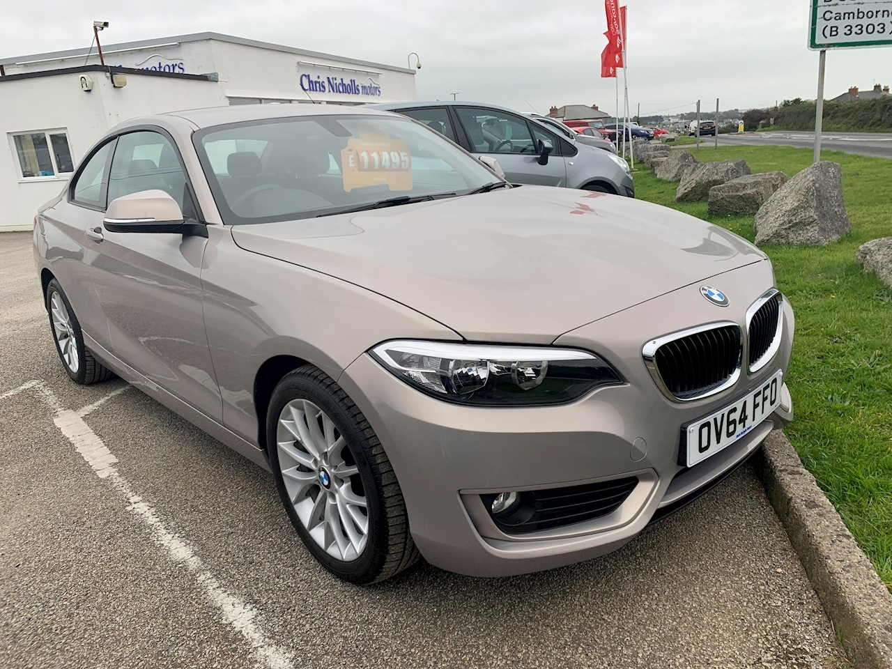 BMW 2 Series 218D Se Coupe 2.0 Manual Diesel