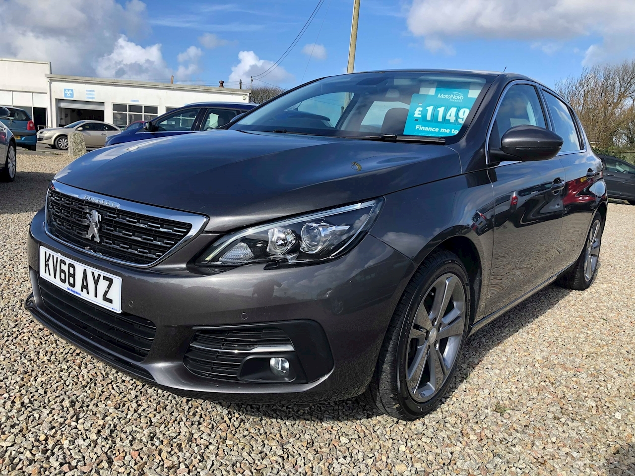 Peugeot 308 Blue Hdi S/S Allure Hatchback 1.5 Manual Diesel