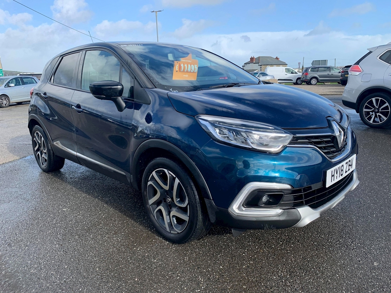 Renault Captur Dynamique S Nav Dci Hatchback 1.5 Manual Diesel