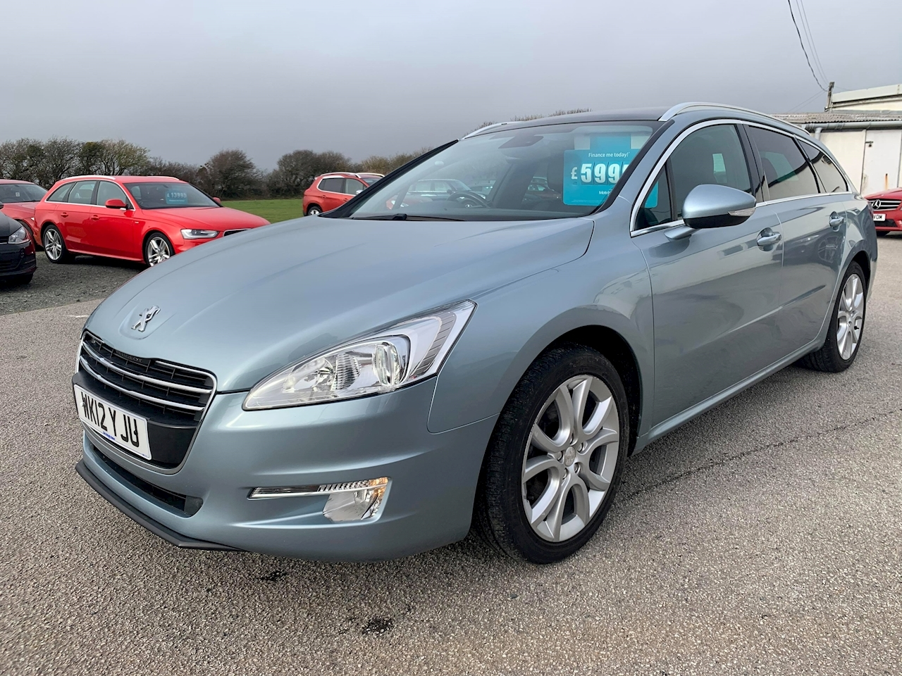 Peugeot 508 Hdi Sw Allure Estate 2.0 Manual Diesel