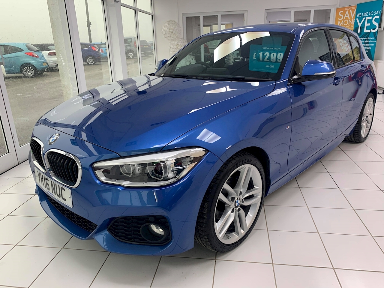 BMW 1 Series 116D M Sport Hatchback 1.5 Manual Diesel