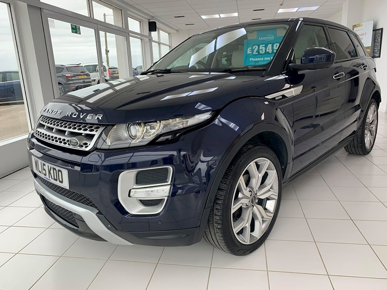 Land Rover Range Rover Evoque Sd4 Autobiography Estate 2.2 Automatic Diesel