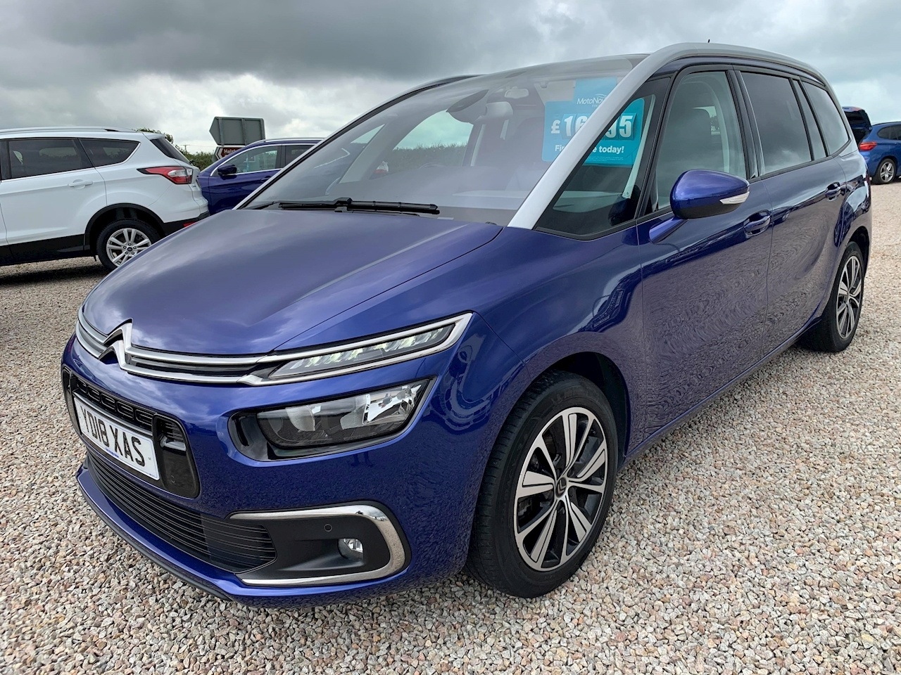 Citroen C4 Picasso Grand Bluehdi Flair S/S Mpv 1.6 Manual Diesel