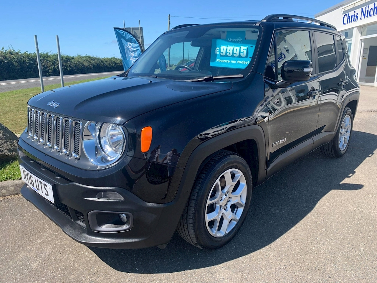 Jeep Renegade M-Jet Longitude Estate 1.6 Manual Diesel