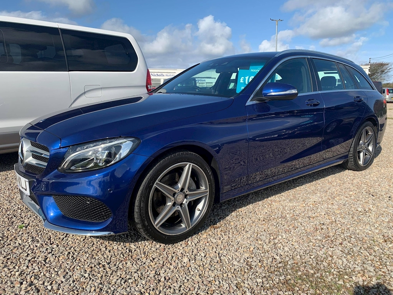 Mercedes C Class C220 Bluetec Amg Line Estate 2.1 Automatic Diesel