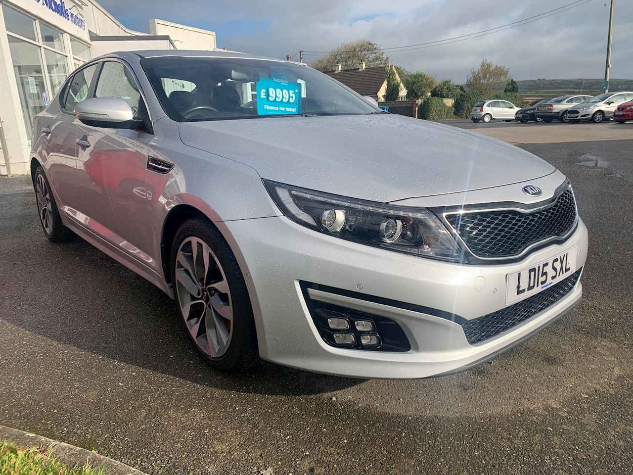 Kia Optima Crdi 2 Ecodynamics Saloon 1.7 Manual Diesel