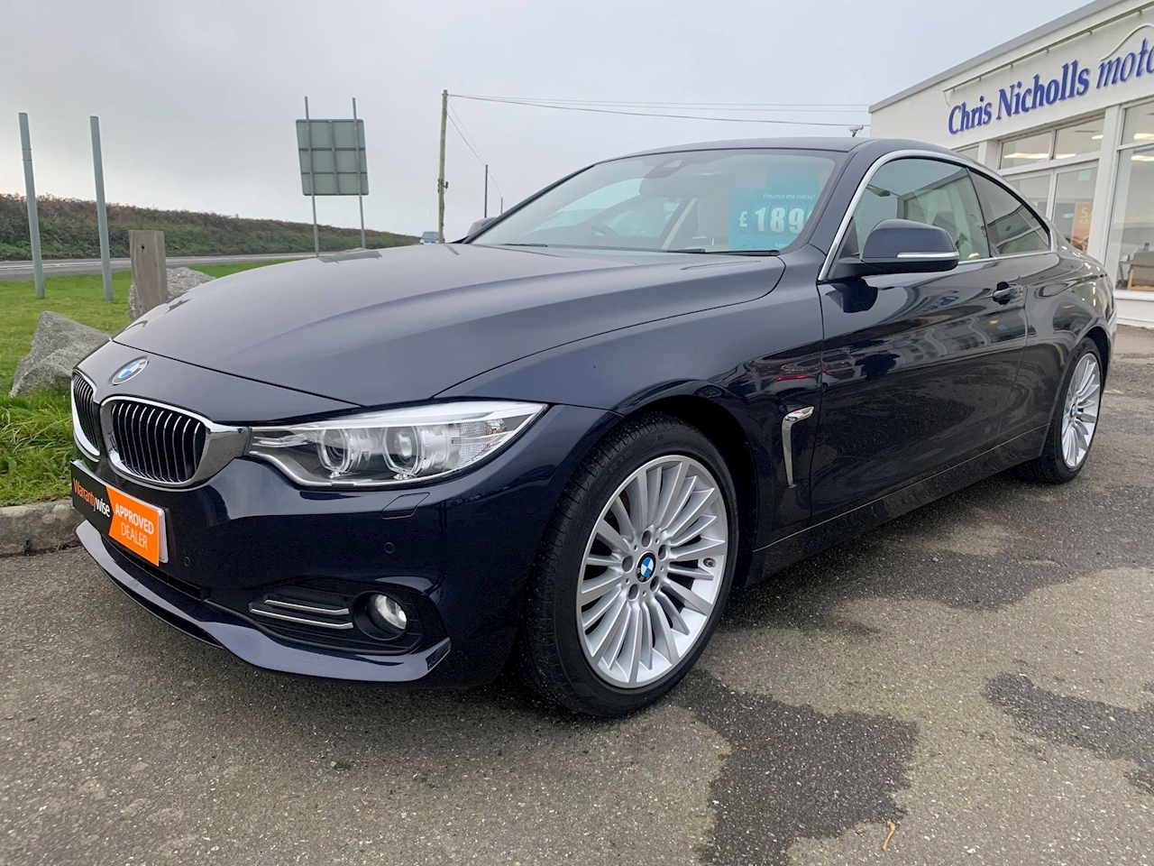 BMW 4 Series 420d Luxury Coupe Coupe 2.0 Automatic Diesel