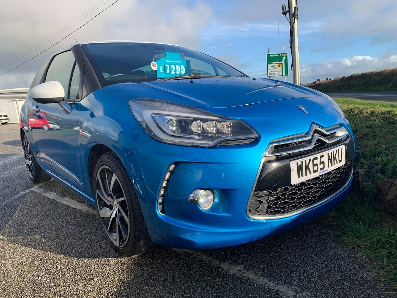Citroen DS3 DSire Plus Hatchback 1.6 Manual Petrol