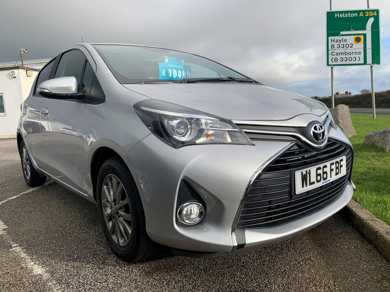 Toyota Yaris Icon Hatchback 1.3 Multidrive S Petrol