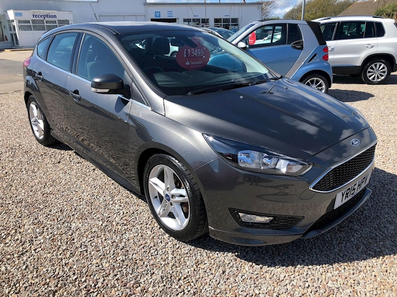 Used 2015 Ford Focus 1 0 Petrol Zetec S Hatchback Chris Nicholls