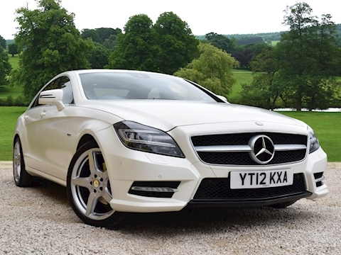 Mercedes Cls Cls350 Cdi Blueefficiency Sport