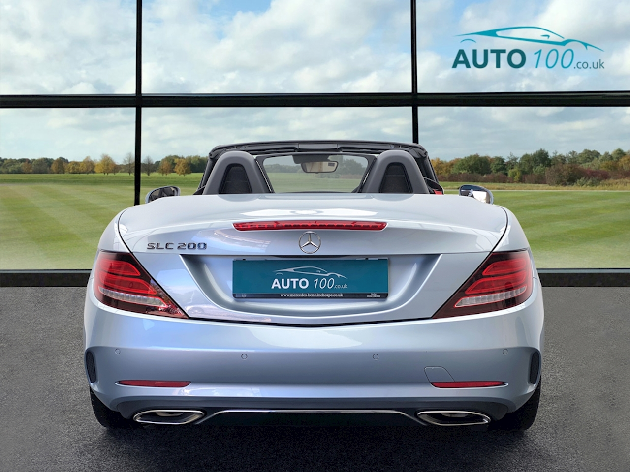 Mercedes-Benz Slc Slc 200 Amg Line Convertible 2.0 Automatic Petrol