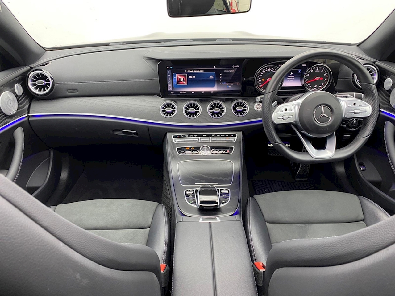 Mercedes-Benz E Class AMG Line Coupe 3.0 G-Tronic+ Petrol