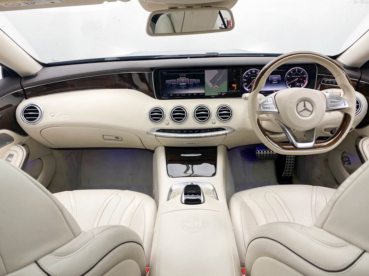 Mercedes-Benz S Class AMG Coupe 5.5 SpdS MCT Petrol