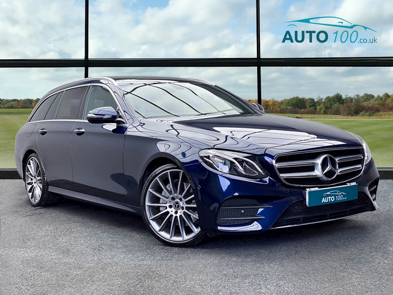 Mercedes-Benz E Class AMG Line Estate 2.0 G-Tronic+ Diesel