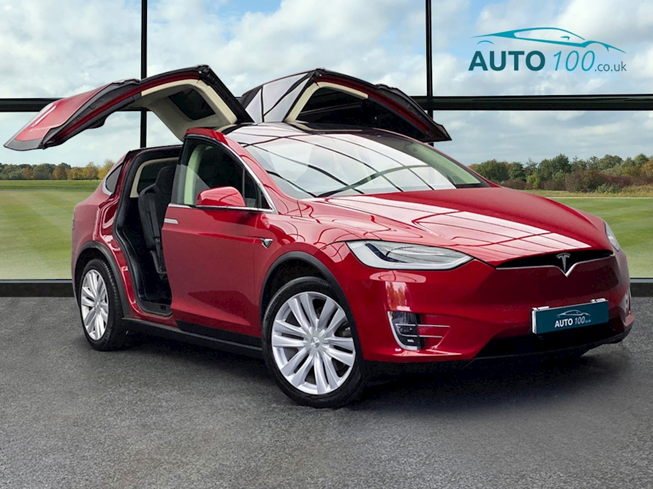 Tesla Model X 60D SUV 5dr Electric Auto 4WD (328 bhp) SUV 0.0 Auto Electric