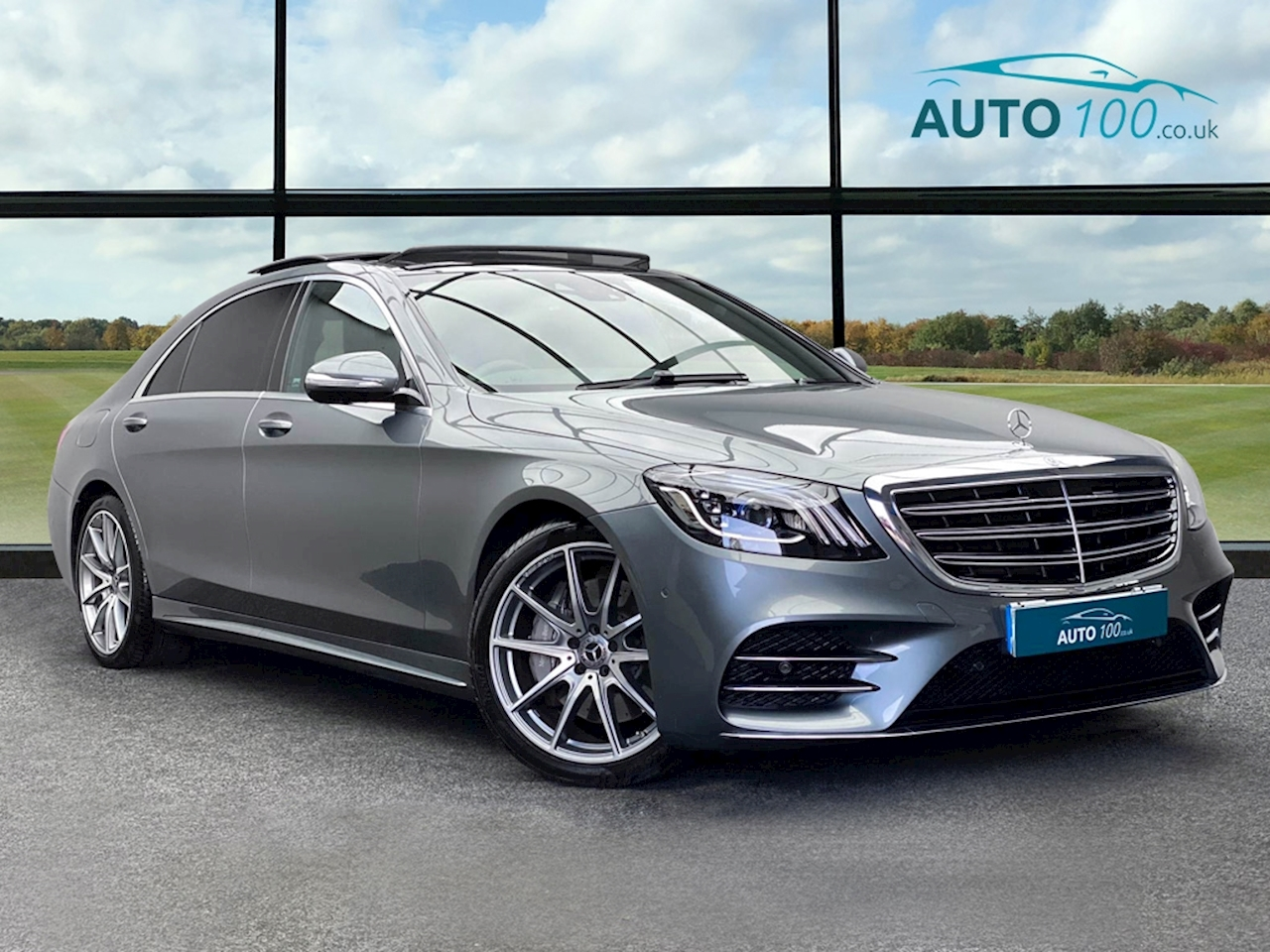 Mercedes-Benz S Class AMG Line Saloon 3.0 G-Tronic+ Diesel