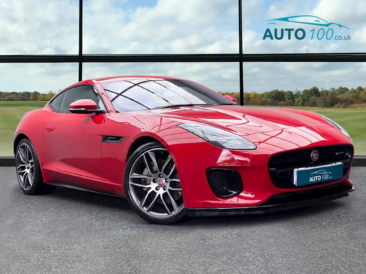 Jaguar F-Type R-Dynamic Coupe 2.0 Auto Petrol