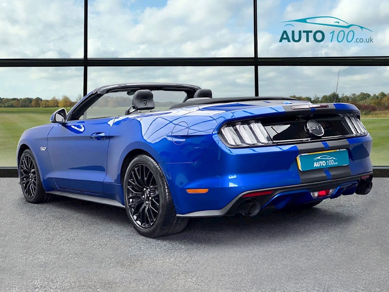 Ford Mustang GT Convertible 5.0 SelShift Petrol