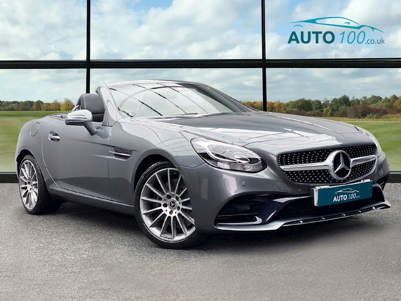 Mercedes-Benz SLC AMG Line Convertible 2.0 G-Tronic Petrol