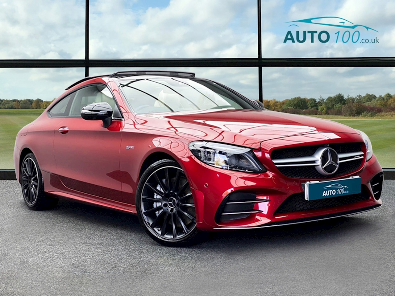 Mercedes-Benz C Class AMG Coupe 3.0 G-Tronic+ Petrol