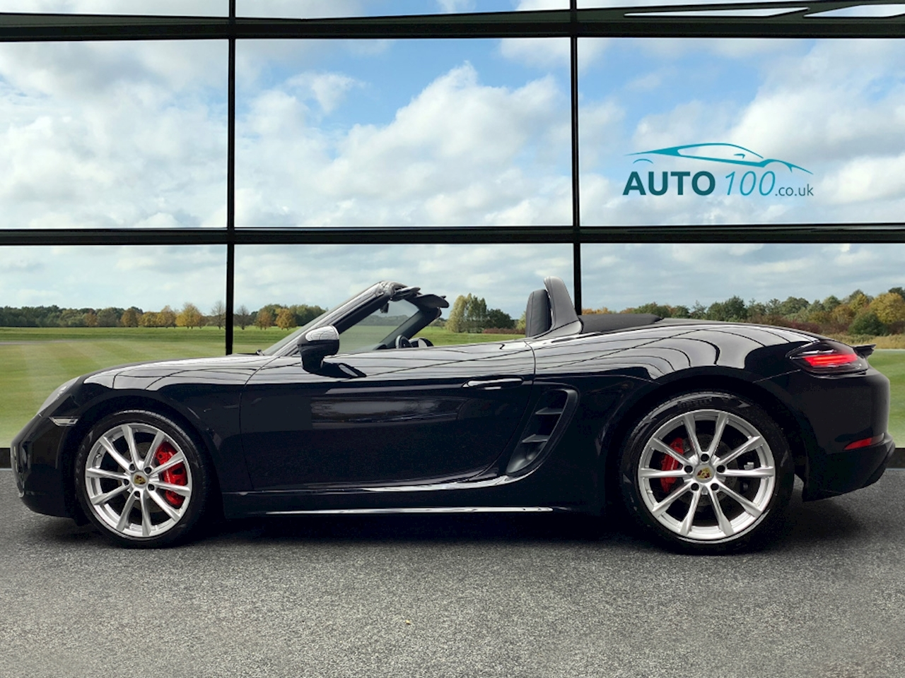 Porsche 718 Boxster S Convertible 2.5 Manual Petrol
