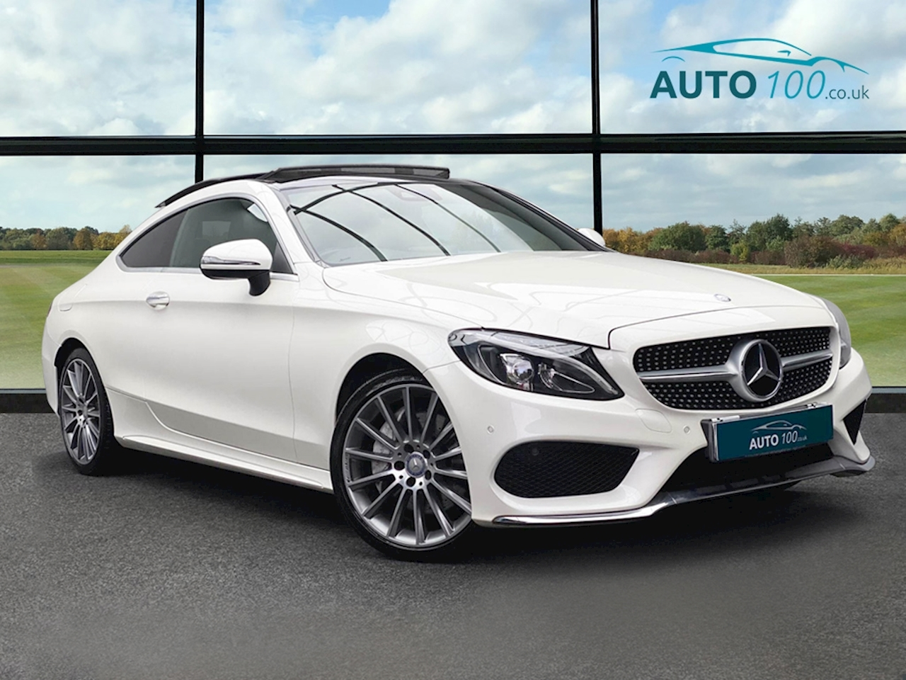 Mercedes-Benz C Class AMG Line Coupe 2.1 G-Tronic+ Diesel